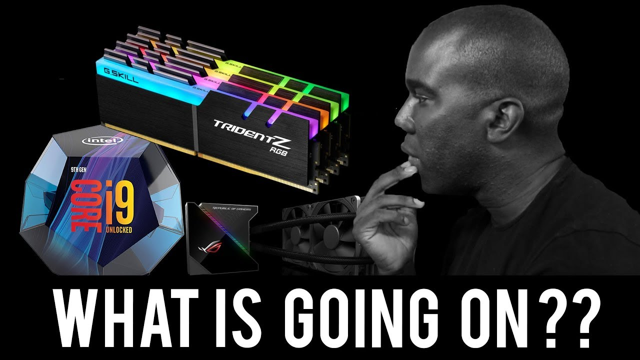 9900K Temps, Testing, & RAM Overclocking - WHAT COULD GO WRONG ??