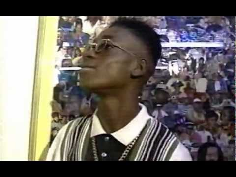 BOUNTY KILLER in the ghetto in his early days