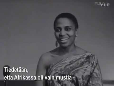 Miriam Makeba Interview 1969