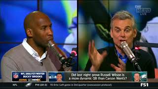 Did last night prove Russell Wilson is a more dynamic QB than Carson Wentz