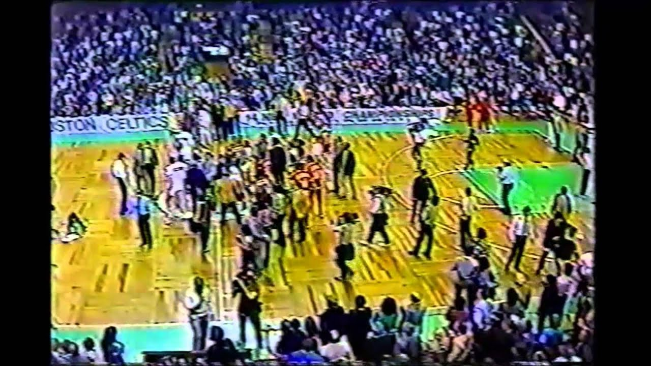 Danny Ainge Tree Rollins Fight April 24 1983
