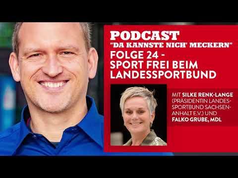 """Podcast - Folge 24 - """"Sport frei"""" beim LandesSportBund (mit Silke Renk-Lange)"""
