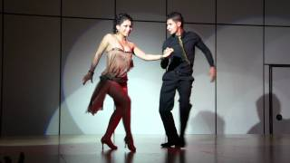 Kathy Reyes and Steven Correa bachata performance at LA Bachata Festival 2011