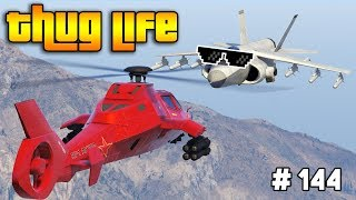 GTA 5 ONLINE : THUG LIFE AND FUNNY MOMENTS (WINS, STUNTS AND FAILS #144)