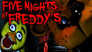 Five Nights at Freddy's: Bear-ly Alive FINAL NIGHT 5 Scary Horror Game PART 5 Gameplay Walkthrough