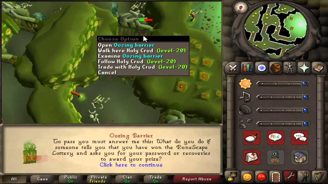 Runescape 2007 Money Making Guide Easy 10k Security Stronghold