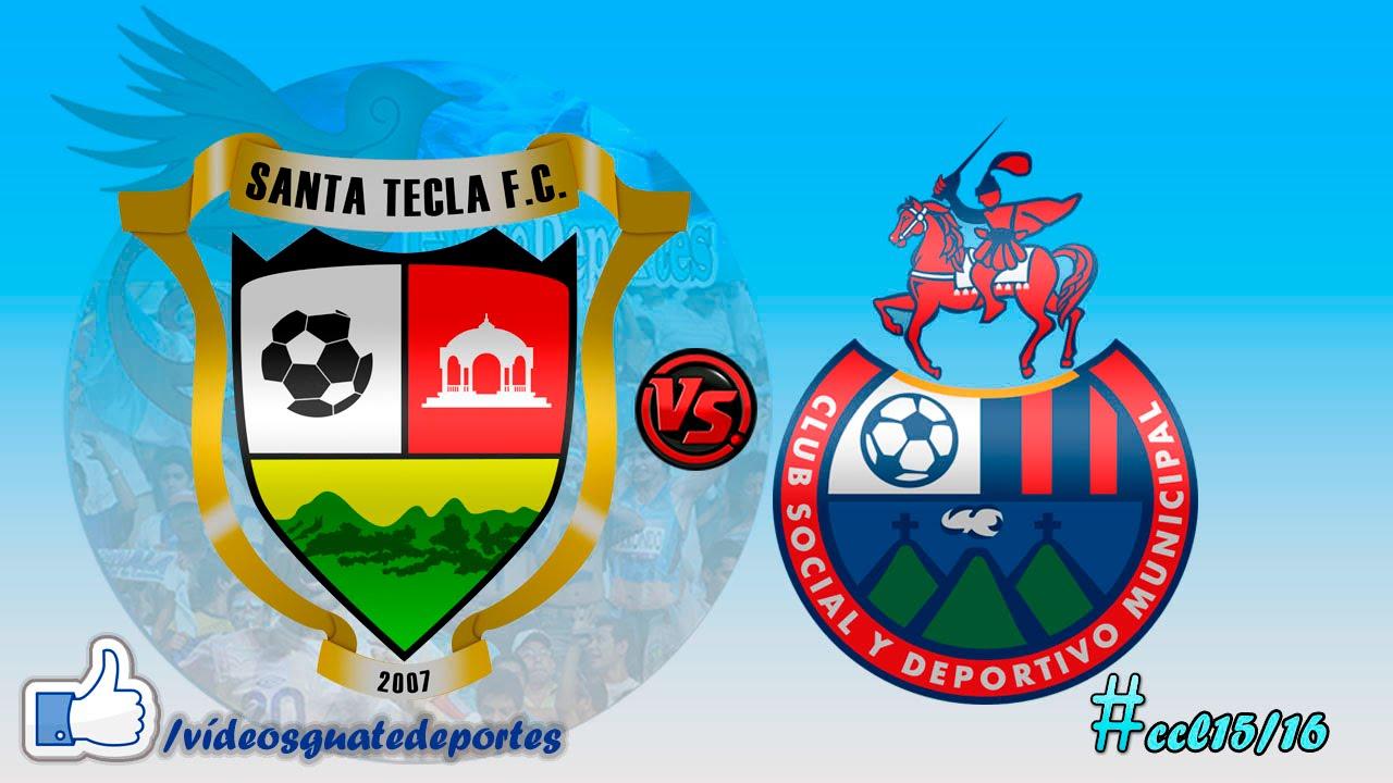 Santa Tecla 1-1 CSD Municipal