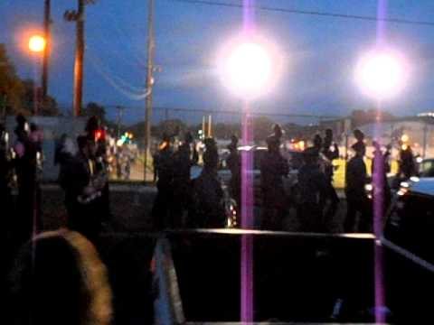 Lewiston High School (ID) Marching Band football pregame march[10/28/2011]