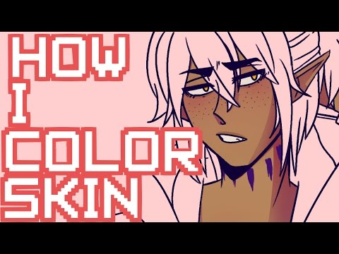How I Color Skin Maybe?