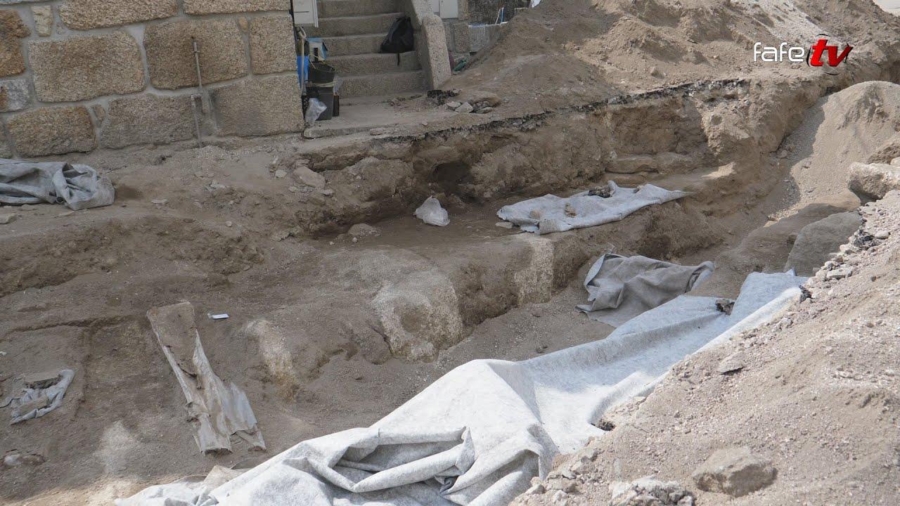 Arões Sta. Cristina: Encontradas ossadas do antigo cemitério da freguesia.