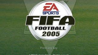 Gameplay Fifa 2005