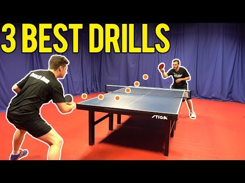 The 3 Best Drills To Improve Match Play | Table Tennis