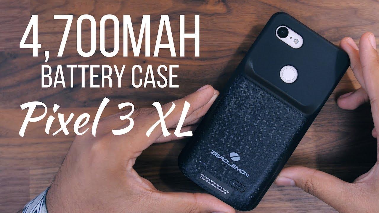 the best attitude f54d4 9fc6a Pixel 3 XL 4,700mAh Battery Case! [ZeroLemon]