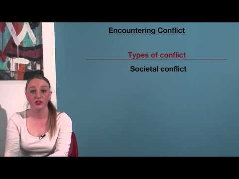 VCE English - Encountering Conflict