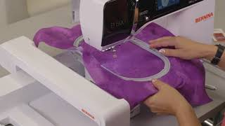 Embroidery tutorial: first steps with the B 500, B 535, B 540, B 570 Q and B 590