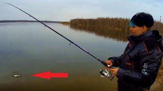 Карась на фидер весной. Рыбалка на ТЭЦ 5 в Беларуси. Апрель 2018