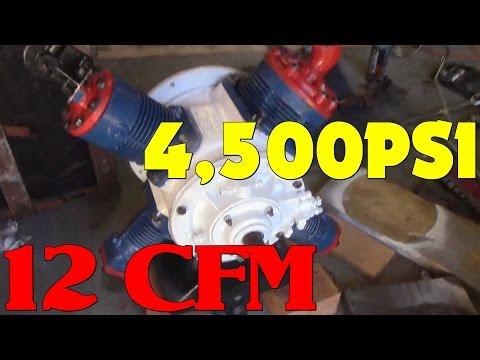 4,500PSI AIR Compressor Rebuild