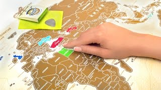 Скретч карты мира TR1P.me(, 2015-02-06T17:01:16.000Z)