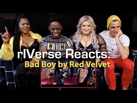 rIVerse Reacts: Bad Boy by Red Velvet - MV Reaction