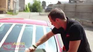 Средства Антидождь. Нанесение  Тест от эксперта avtozvuk.ua