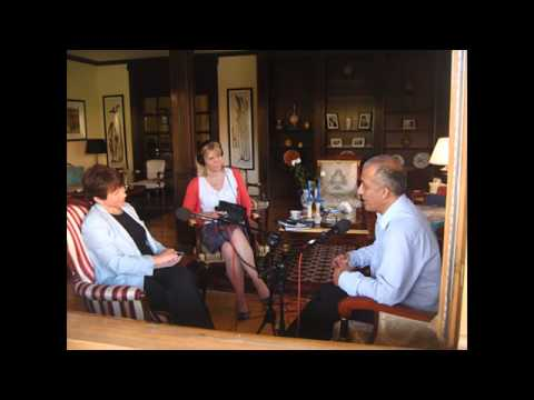 مصاحبه ی مسعود خلیلی با خبر نگار BBC بی بی سی Masood Khalili interviewed by BBC's Lyse Doucet