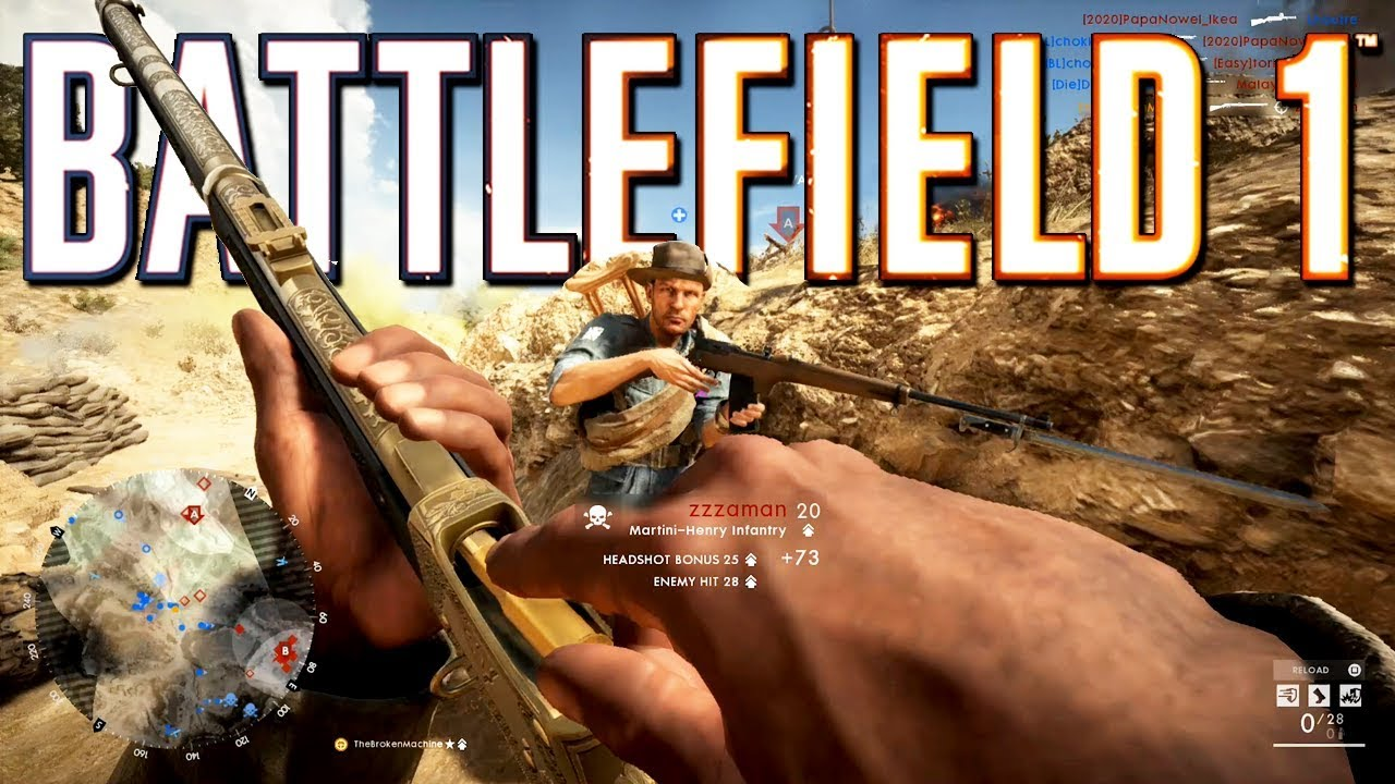 Battlefield 1: The Martini King