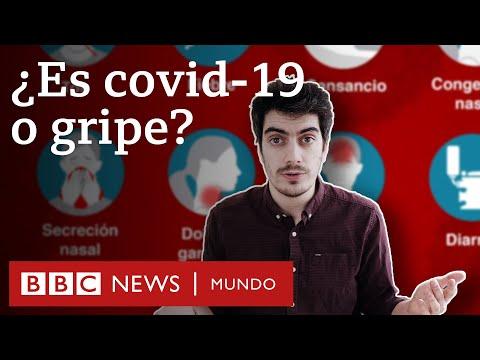 Síntomas del coronavirus: cómo diferenciarlos de la gripe y el resfriado | BBC Mundo