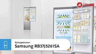 Обзор холодильника с нижней морозильной камерой Samsung RB37J5261SA от эксперта «М.Видео»