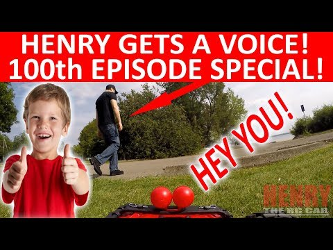 "HENRY FINALLY GETS A VOICE! ""THE ADVENTURES OF HENRY THE RC CAR"" EPISODE 100"