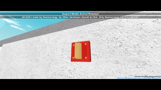 Roblox Fire Alarm test #1 | Seaport middle School