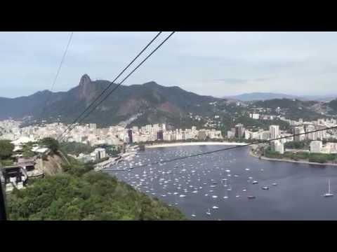 Panoramic view over Botafogo Bay, Rio de Janeiro