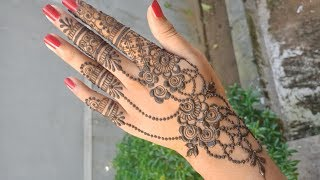 Jewelry (Ornamental) Mehndi Design #11 -  Shimmi