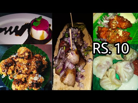 CHEAPEST STREETFOOD IN GUWAHATI|| PLACES TO EAT|| BEST BBQ PORK||