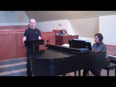 In diesen heil'gen Hallen - W A Mozart- Vance Sova- Practice 1