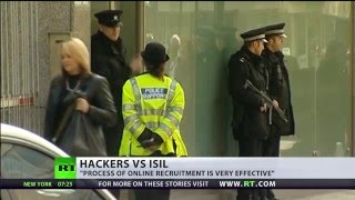 ISIS Twitter accounts traced to UK govt, hacker group claims