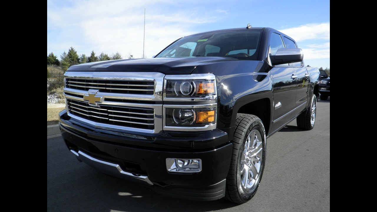 Gmc Truck For Sale >> 2014 CHEVROLET SILVERADO HIGH COUNTY 6.2L BLACK FOR SALE ...