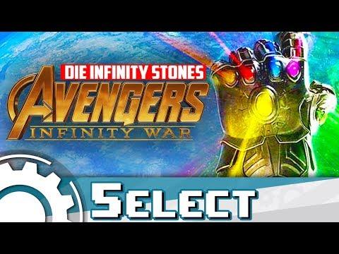 Die Infinity Stones in Avengers: Infinity War