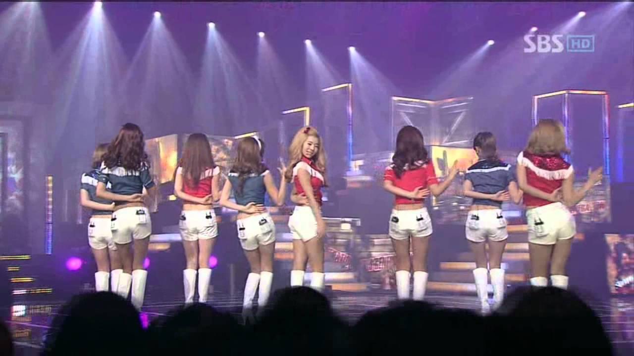 Download SNSD - Hoot (소녀시대-훗) @ SBS Inkigayo 인기가요 101107