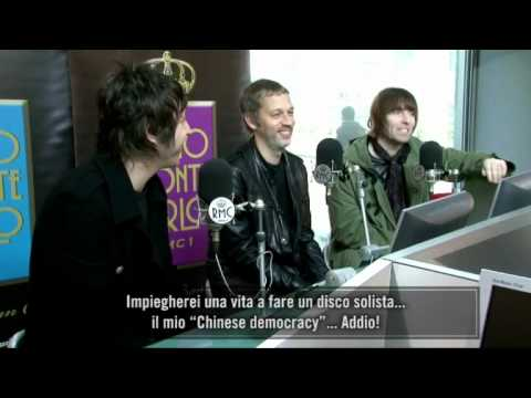 Beady Eye interview con strafalcioni - Radio Monte Carlo TV - 11 February 2011