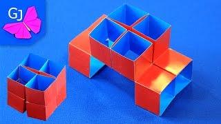 Волшебный Куб Трансформер :: Движущиеся оригами из бумаги(Волшебный Куб трансформер — оригинальная поделка из бумаги, сделать которую сможет каждый! Понравилось..., 2015-06-17T09:58:47.000Z)
