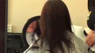 «Ботокс для волос» в салоне красоты «Belle»
