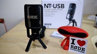 Rode NT USB أفضل مايكروفون للتسجيلات والتعليقات الصوتية