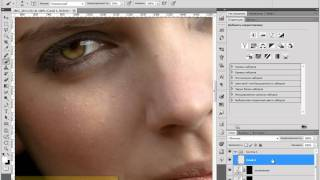 метод ретуши лица уроки фотошоп