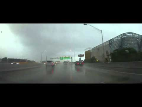 Driving from Miami Beach in a Massive Storm to Naples, Florida