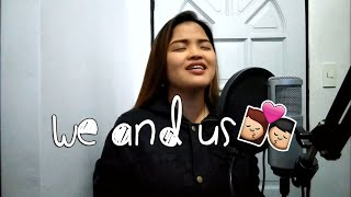 We and Us by Moira Dela Torre | Cover