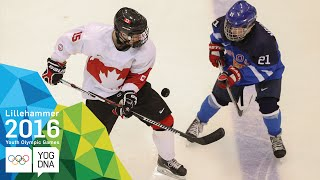 Ice Hockey - ​Men's Semi-Finals - Canada vs Finland | ​Lillehammer 2016 ​Youth Olympic Games​