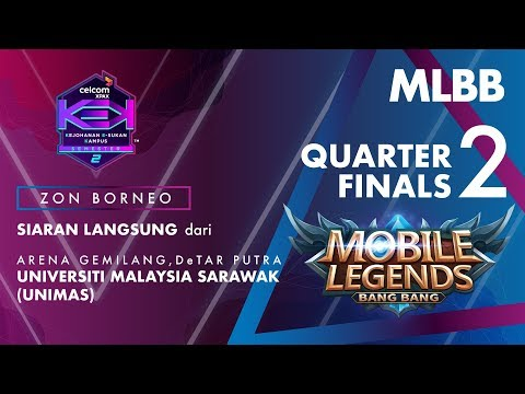 MLBB CELCOM #XPAXKEK SEM 2 Quarter Final 2 - Genesys Esports [UMSKAL] vs HAVANA MEOR [Poli Mukah]