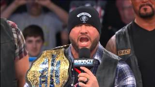 New World Champion and President of Aces and Eights - BULLY RAY