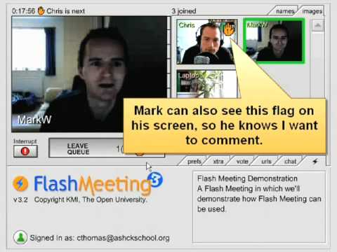 007 - Video conferencing with FlashMeeting