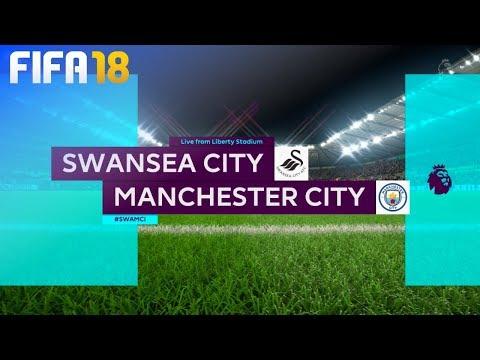 FIFA 18 - Swansea City vs. Manchester City @ Liberty Stadium